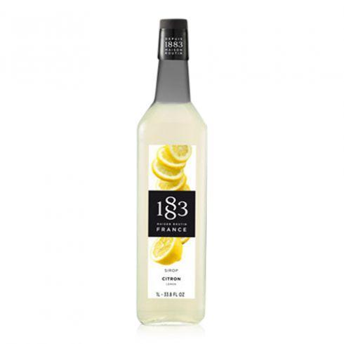 1883 Sirup Citron ekstra stærk 1000 ml (Glasflaske)