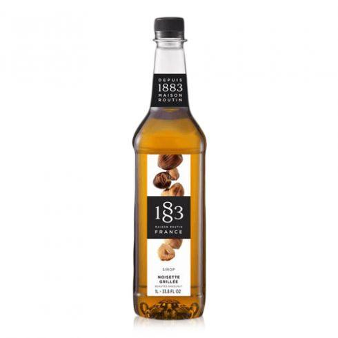 1883 Ristet Hasselnød sirup 1000 ml (Glasflaske)
