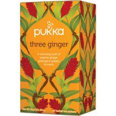 Pukka - Tree ginger tea - Øko FT (4 x 20 breve)