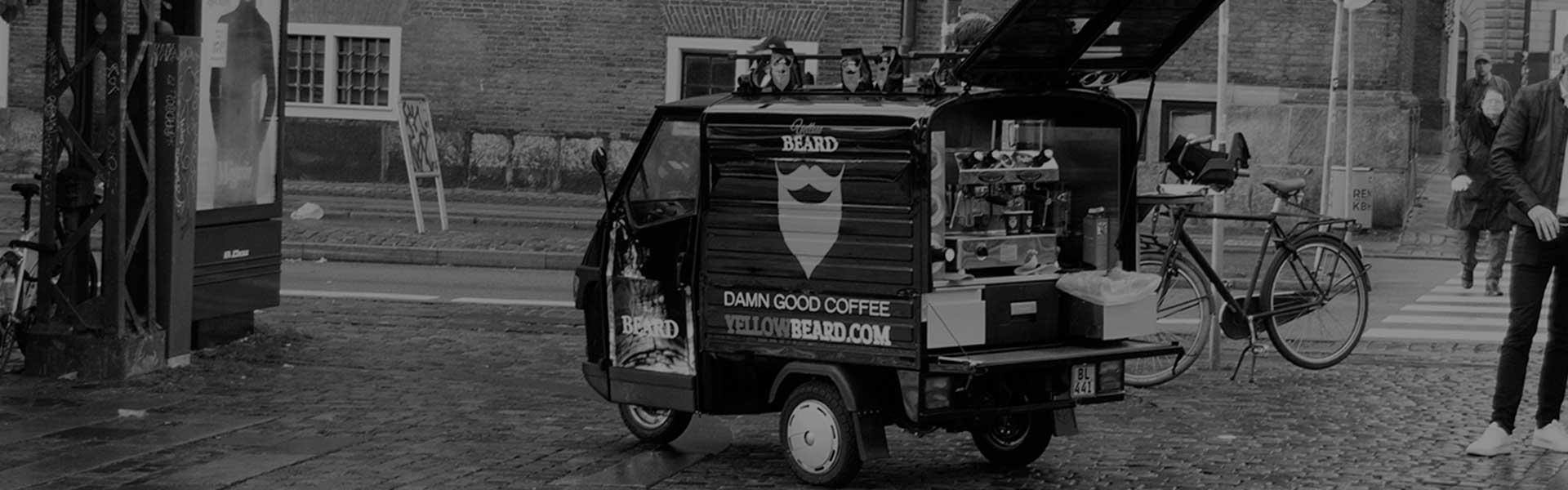Kaffe bil i København